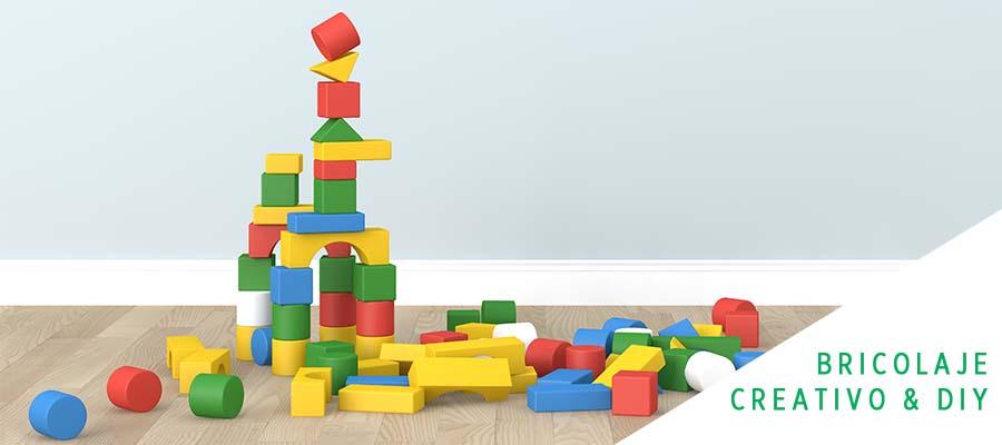 Pinta los juguetes de madera de tus hijos