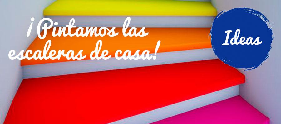 NUEVA TENDENCIA: ¡PINTA LAS ESCALERAS DE CASA!