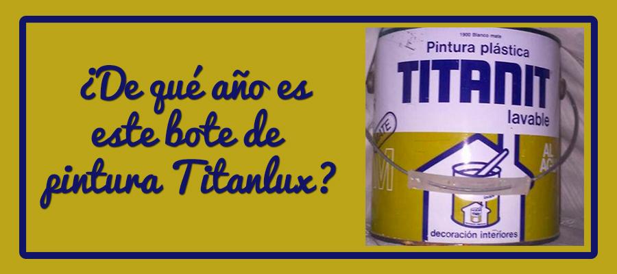 LOS AÑOS PASAN, PERO SIEMPRE CON TITANLUX