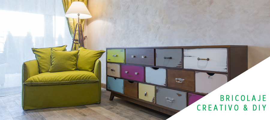 MUEBLES DECORADOS AL ESTILO MIXNMATCH