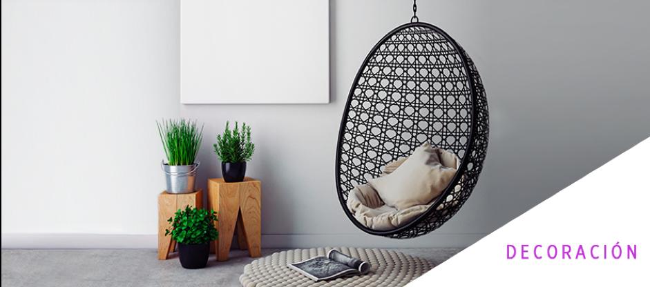 Cómo integrar una hamaca colgante en tu hogar