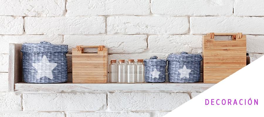 Organiza tu espacio con cestos personalizados con Chalk Paint
