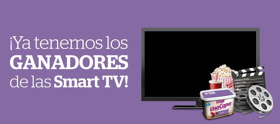 """GANADORES DE LA SMART TV DE 32"""""""