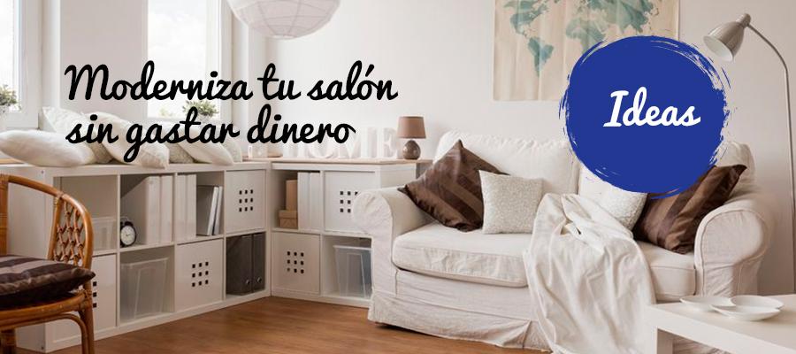 MODERNIZA TU SALÓN-COMEDOR SIN GASTAR DINERO