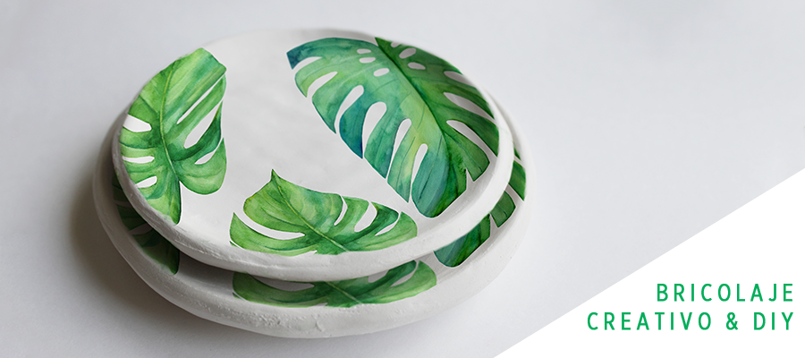 Decora cuencos de cerámica