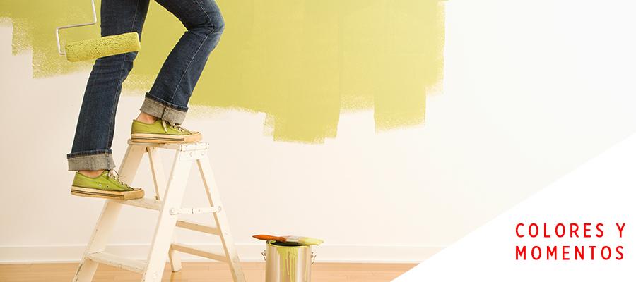 Ideas creativas para pintar tus paredes