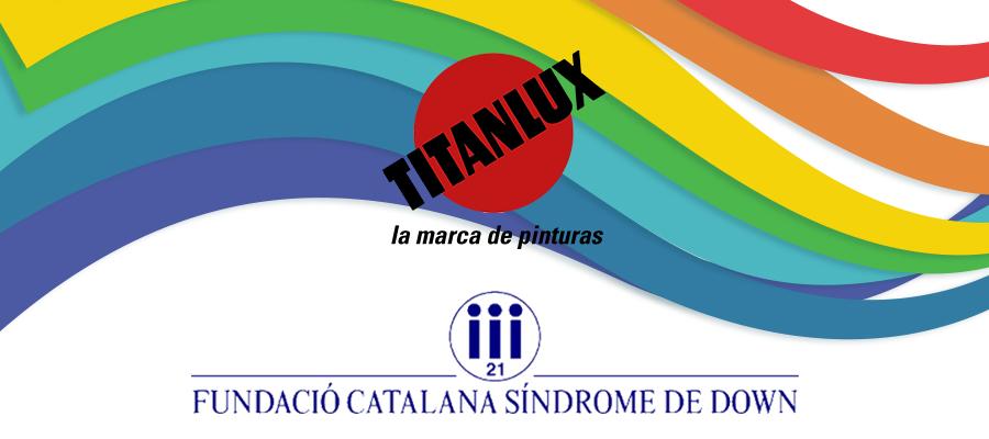 TITANLUX HACE UNA DONACIÓN DE PINTURA A LA FUNDACIÓN CATALANA DE SÍNDROME DE DOWN