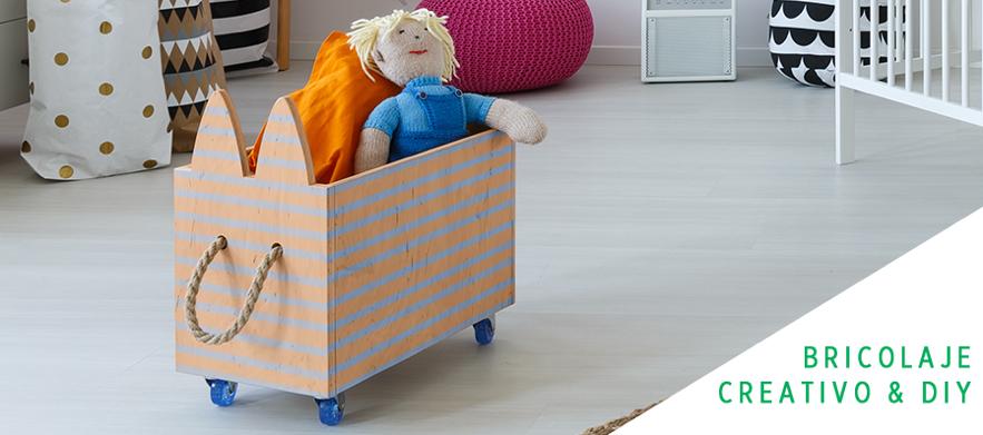 Cómo decorar el juguetero de tus hijos