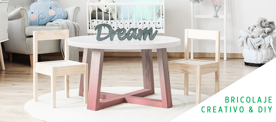 Decora tu mesa con el efecto degradado