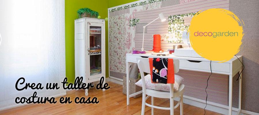 DECORACIÓN DE UN TALLER DE COSTURA EN CASA