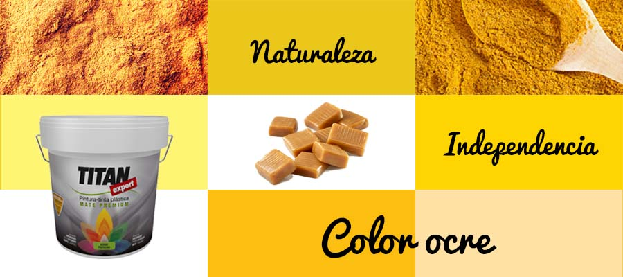 OCRE: EL COLOR DEL MES DE ABRIL