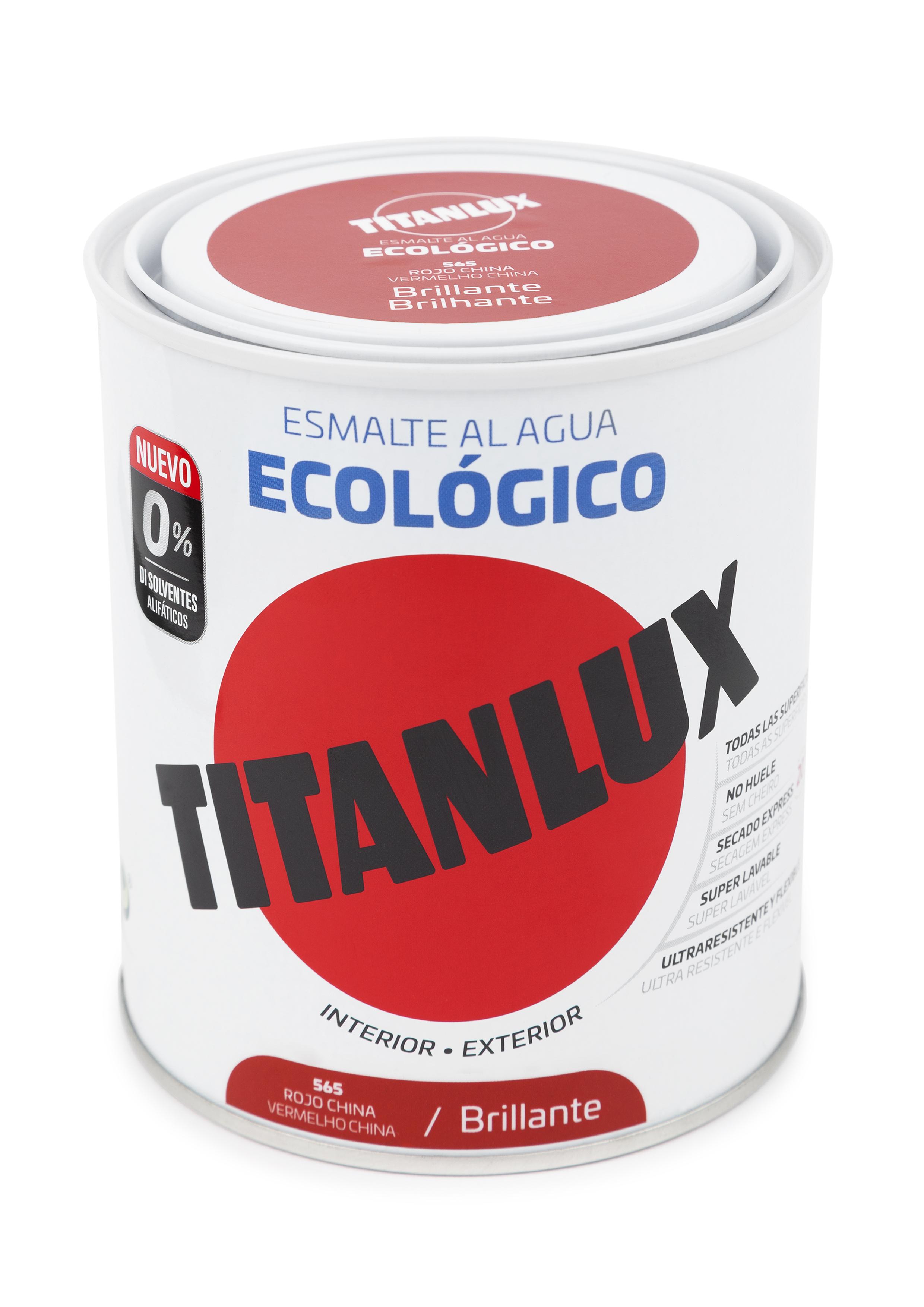 ESMALTE ECOLÓGICO AL AGUA TITANLUX