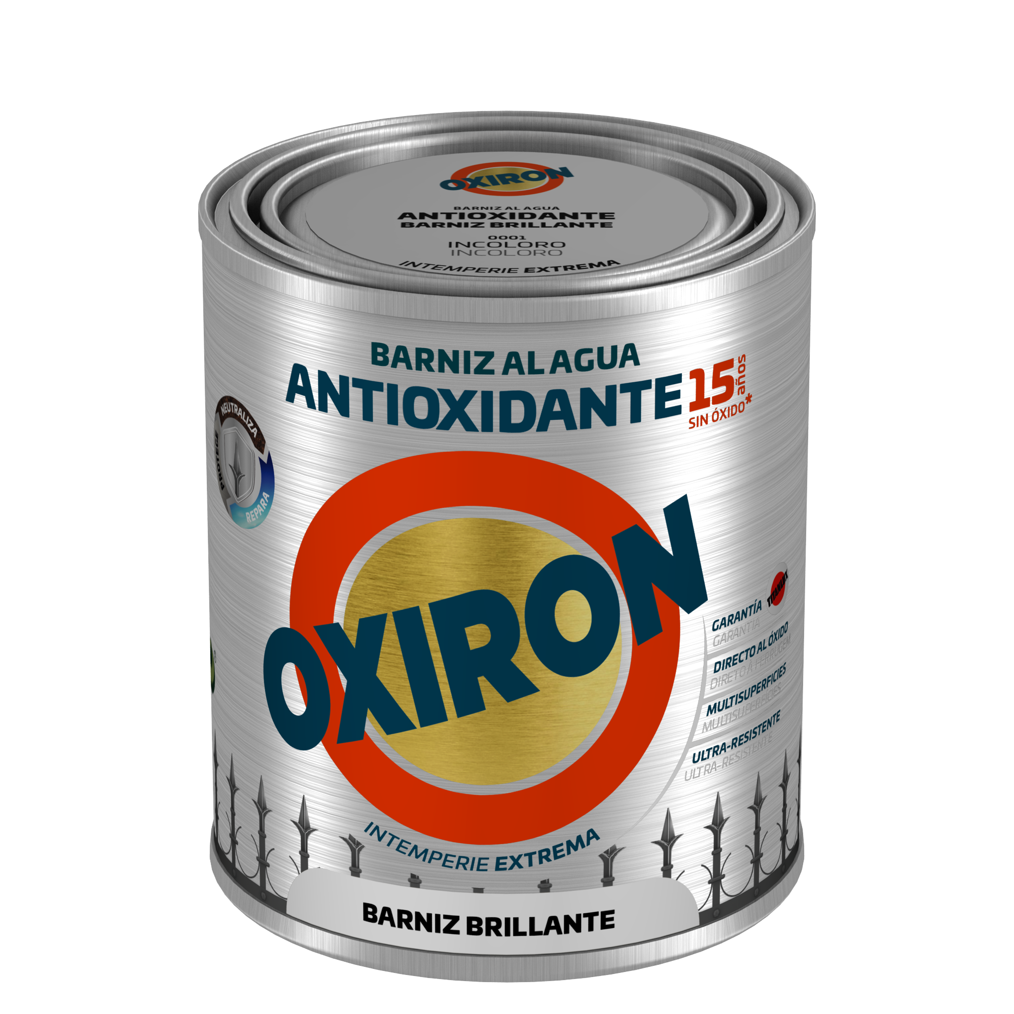 OXIRÓN BARNIZ ANTIOXIDANTE BRILLANTE.