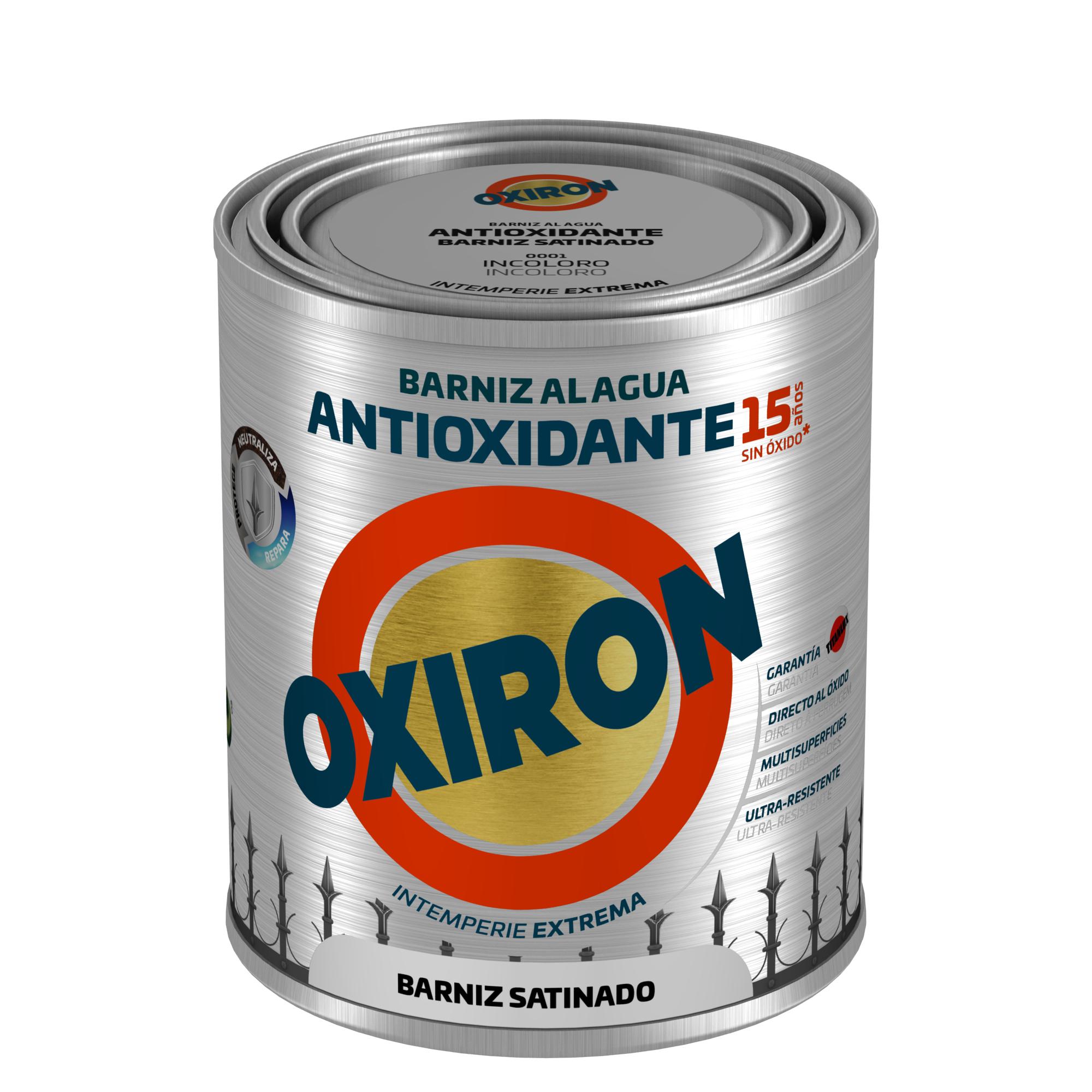 OXIRÓN BARNIZ ANTIOXIDANTE SATINADO.