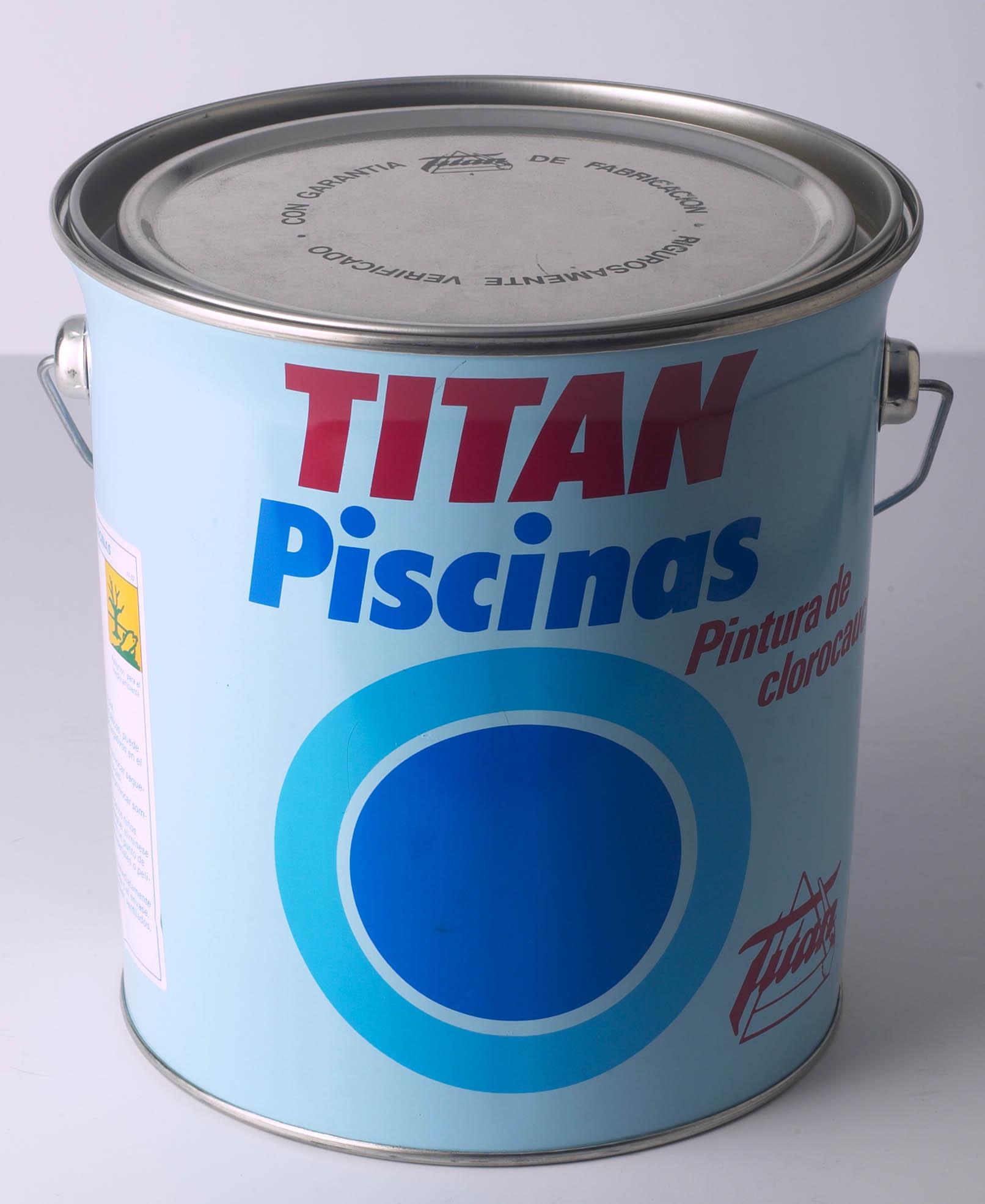TITAN PISCINAS CLOROCAUCHO.