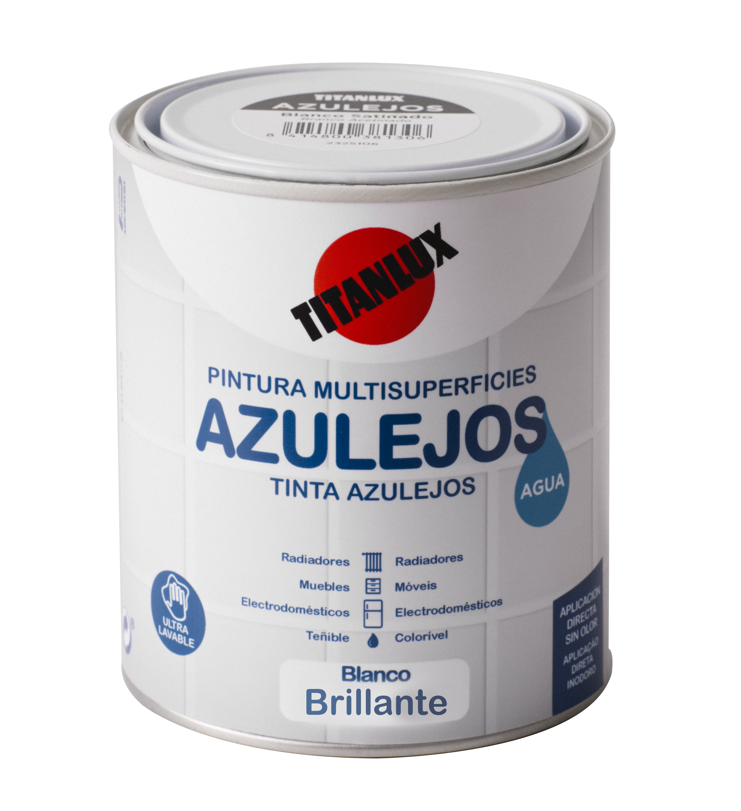 ESMALTE AZULEJOS AL AGUA TITANLUX.