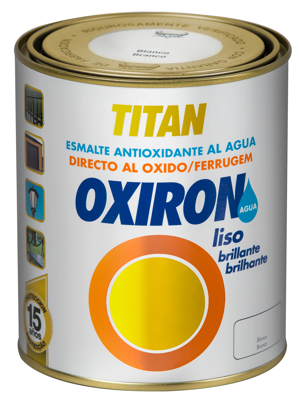 OXIRÓN LISO BRILLANTE AL AGUA.