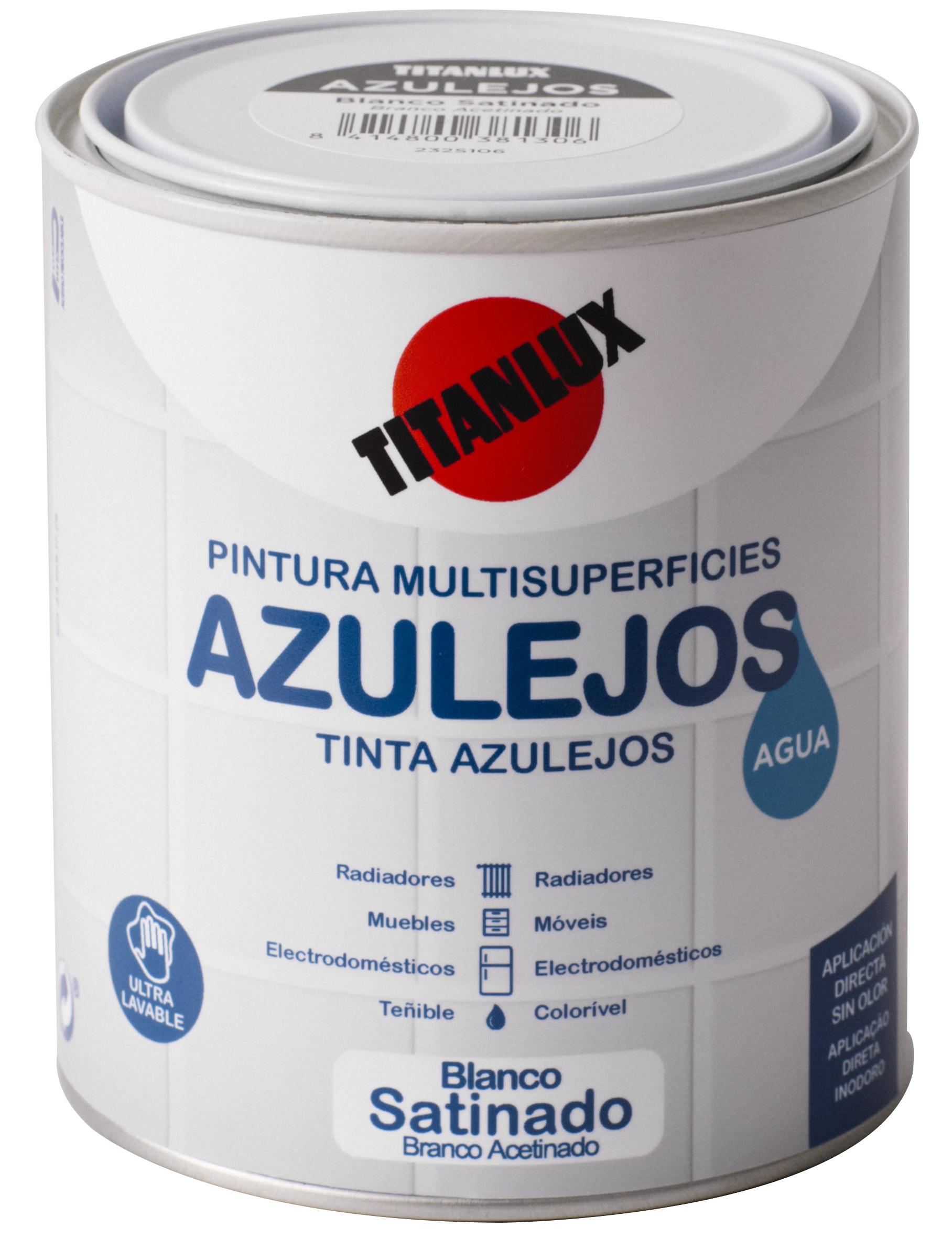 WATER BASED ENAMEL FOR KITCHEN AND BATHROOM TILES TITANLUX