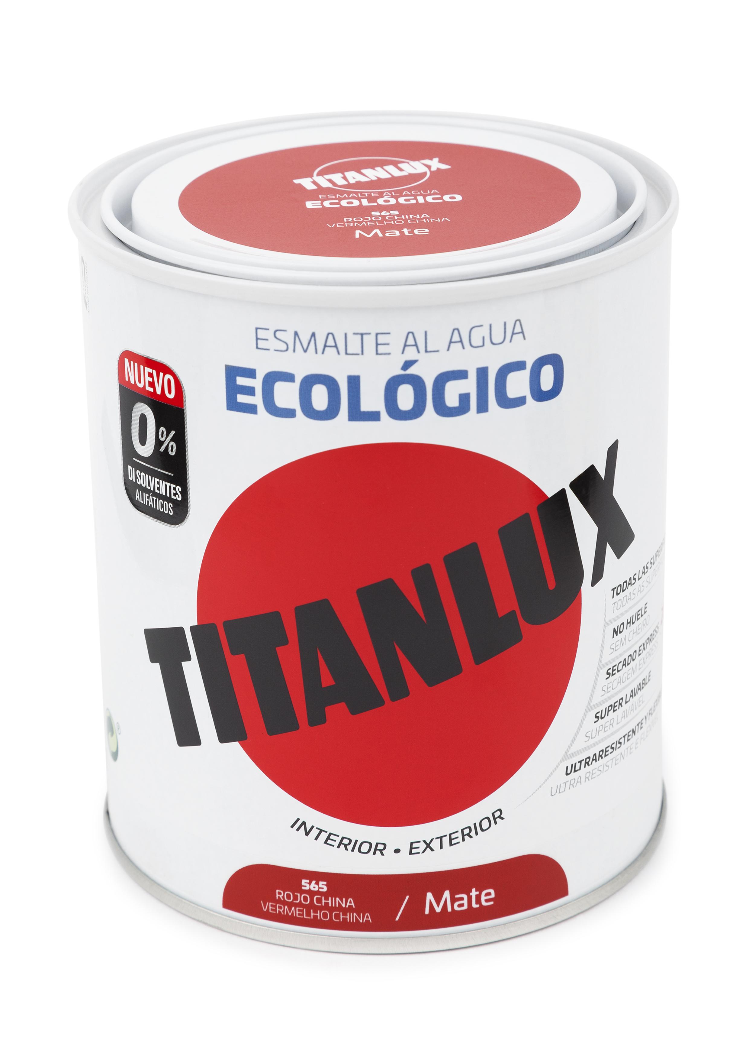 ESMALTE ECOLÓGICO AL AGUA TITANLUX.