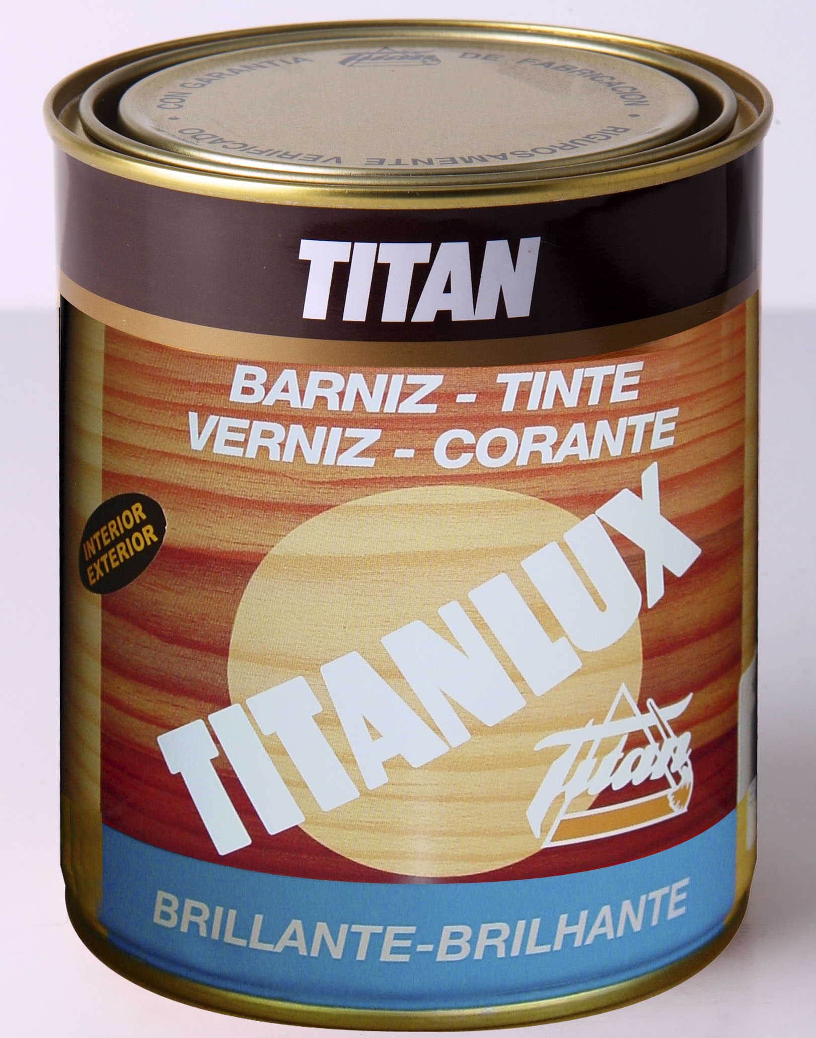 BARNIZ TINTE TITANLUX SINTETICO