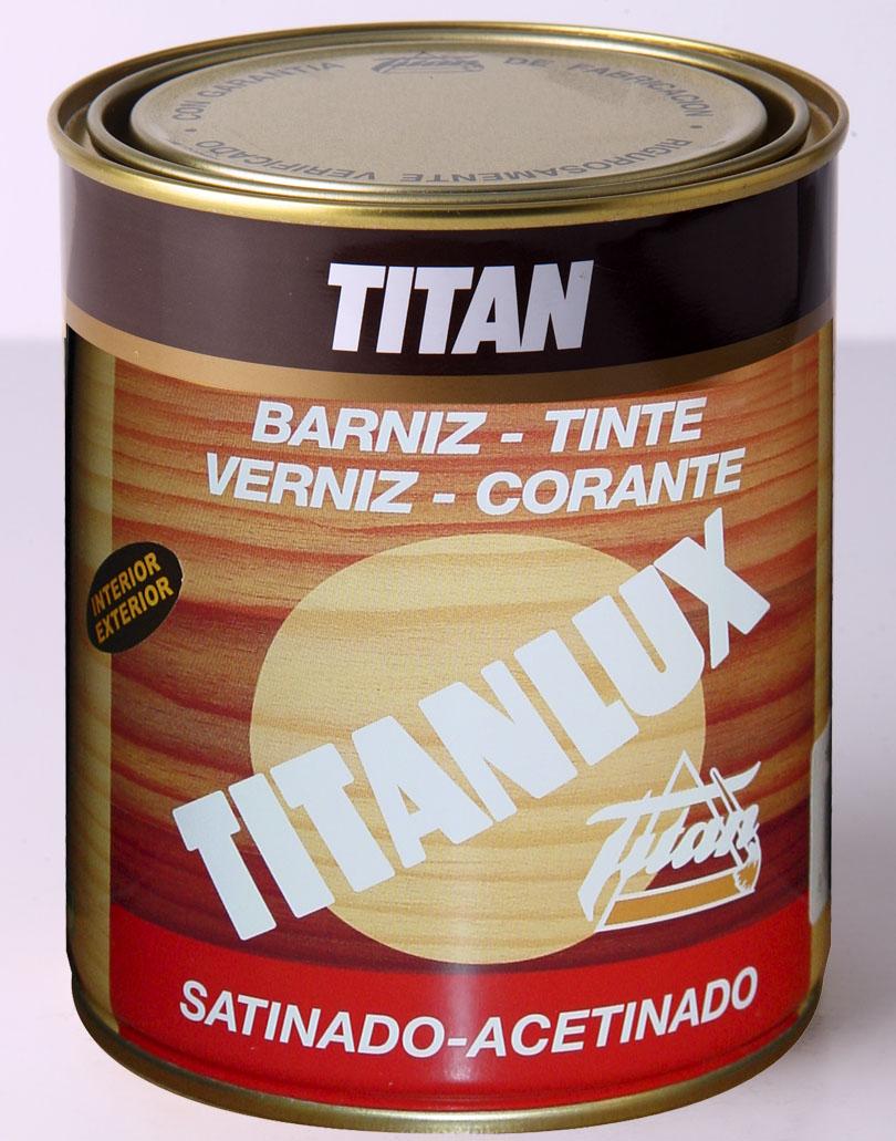 BARNIZ TINTE TITANLUX SINTÉTICO.