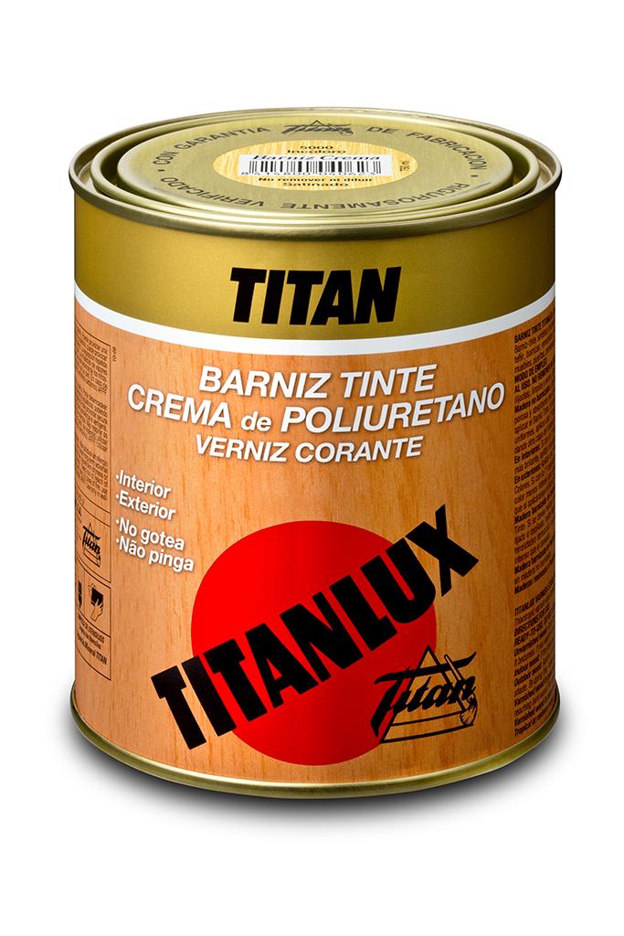 BARNIZ TINTE TITANLUX. CREMA DE POLIURETANO