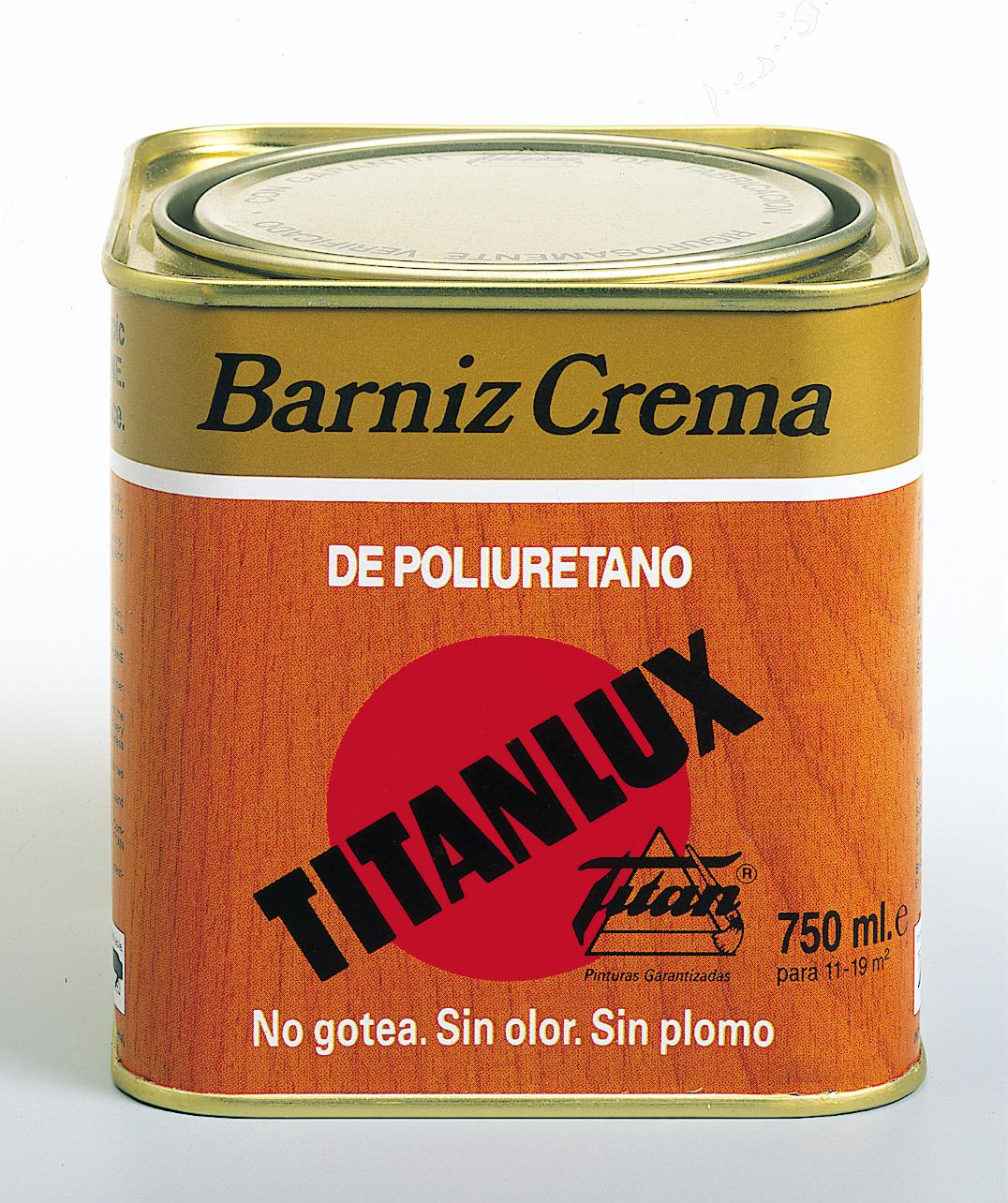 BARNIZ TINTE TITANLUX CREMA DE POLIURETANO