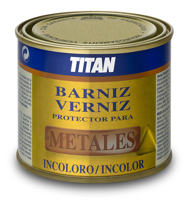 BARNIZ TITAN PROTECTOR PARA METALES