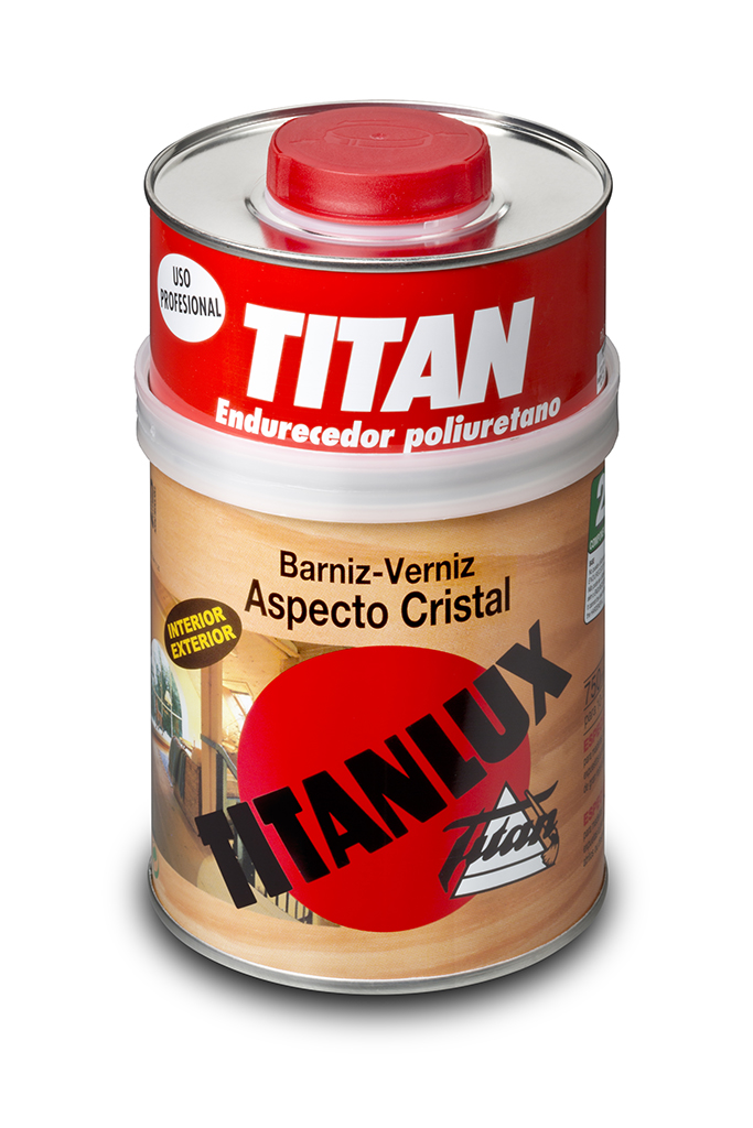 BARNIZ TITANLUX ASPECTO CRISTAL