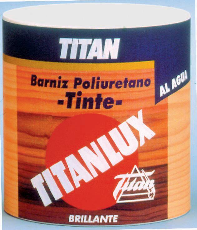 BARNIZ TINTE TITANLUX AL AGUA