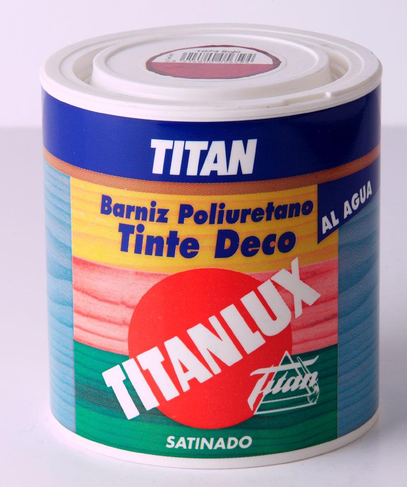 BARNIZ TINTE TITANLUX AL AGUA DECO.