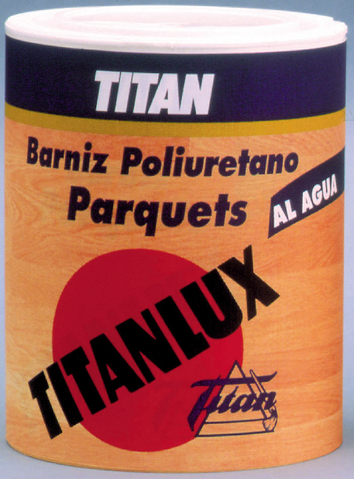 TITANLUX WATER-BASED VARNISH FOR WOODEN FLOORS