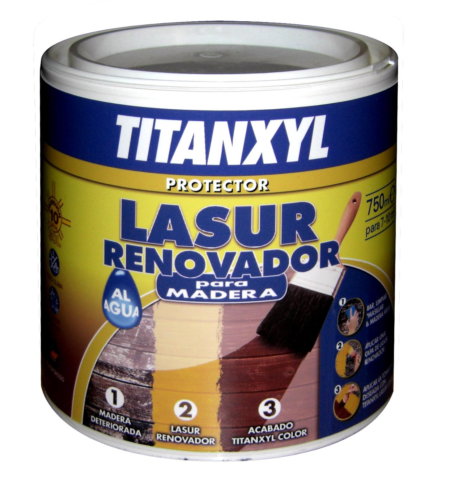 TITANXYL LASUR RENOVADOR AL AGUA
