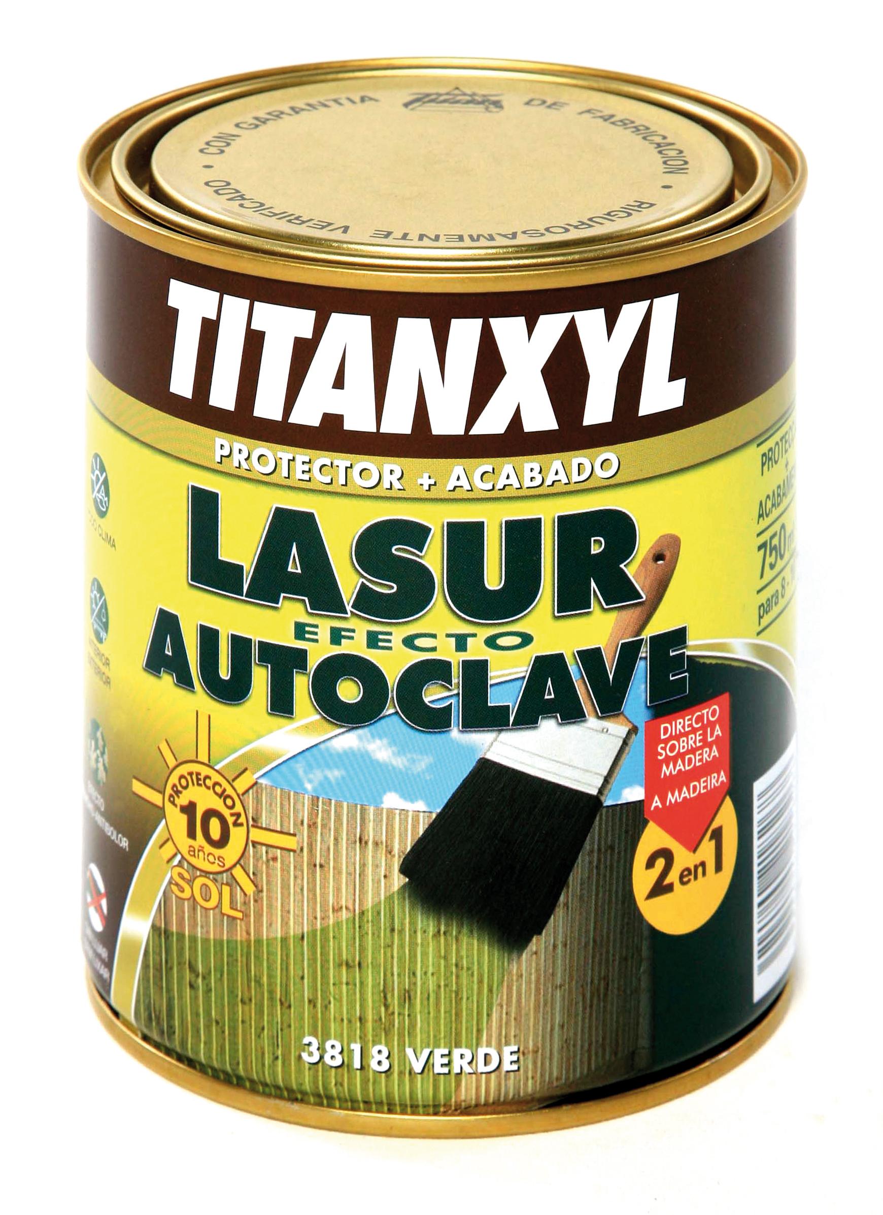 TITANXYL LASUR EFECTO AUTOCLAVE