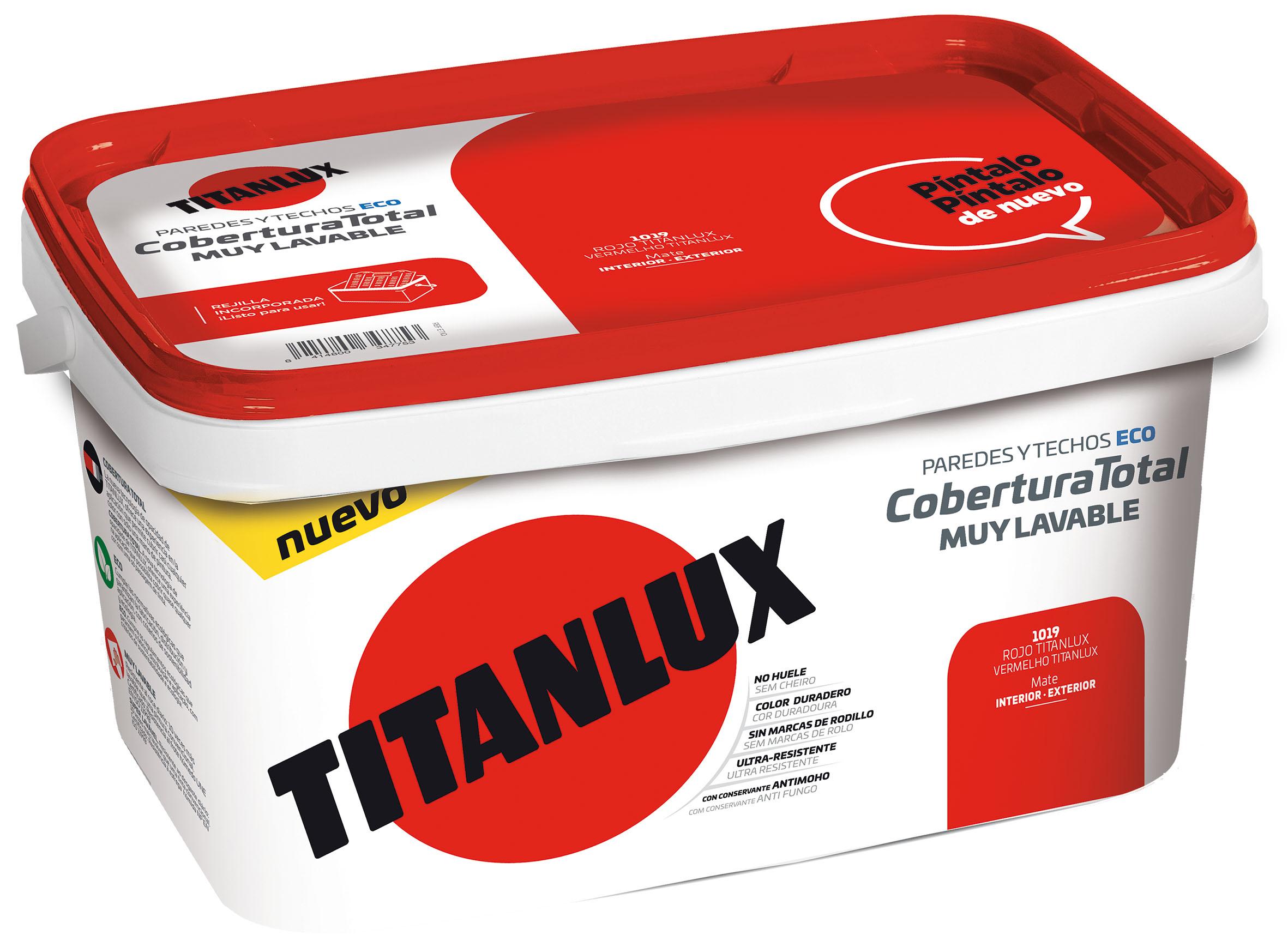 TITANLUX COBERTURA TOTAL -CUBETA-