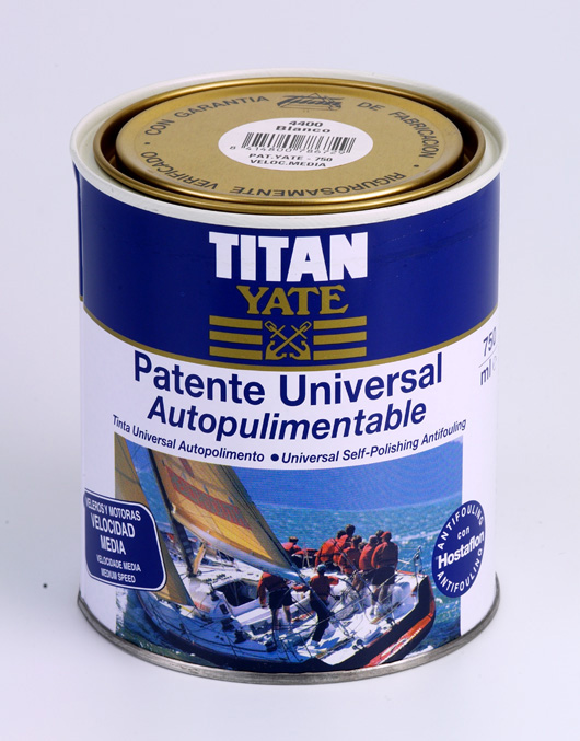 SELF-POLISHING UNIVERSAL ANTIFOULING. MEDIUM SPEED.