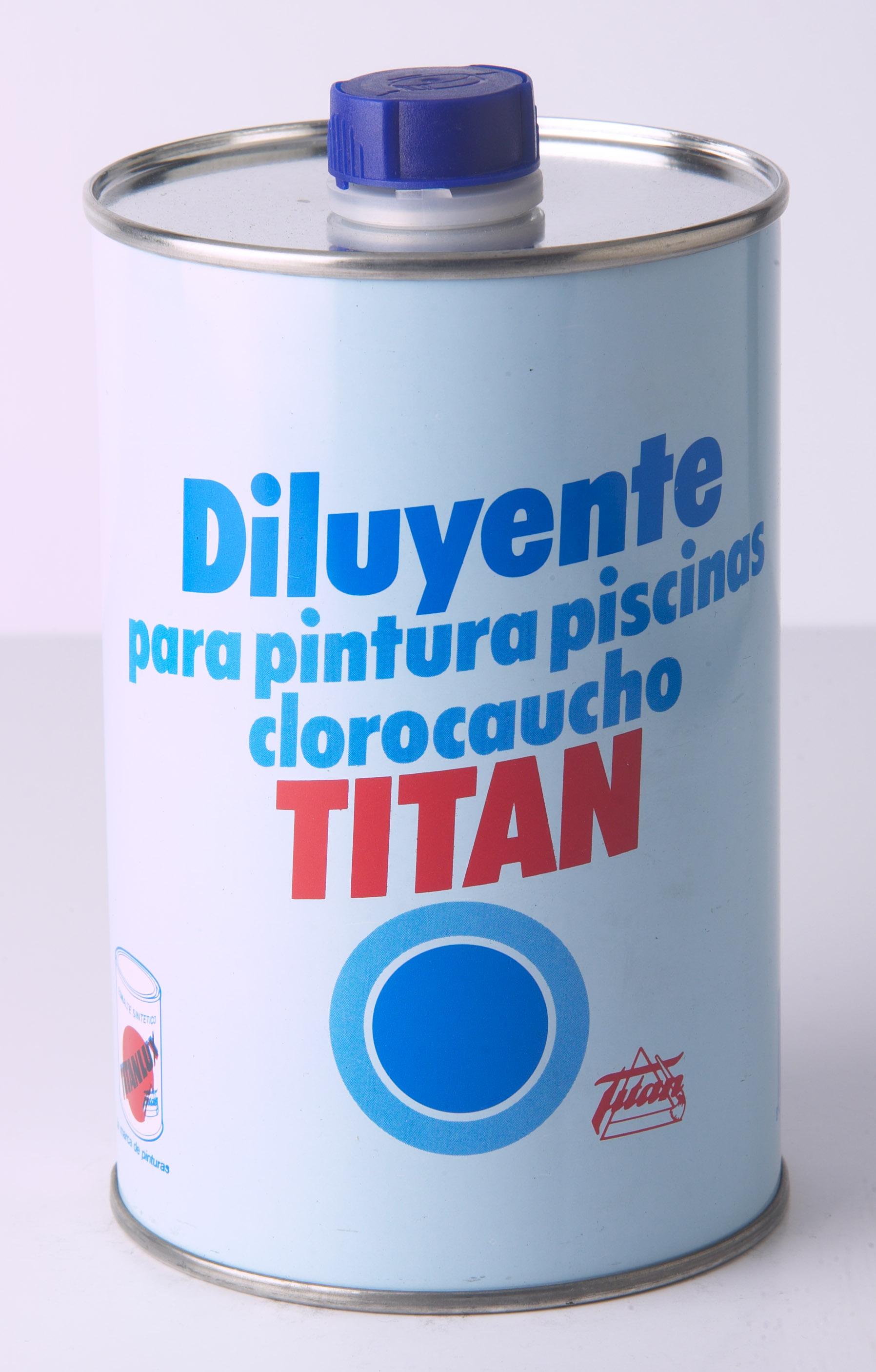 DILUYENTE PARA PINTURAS TITAN PISCINAS.