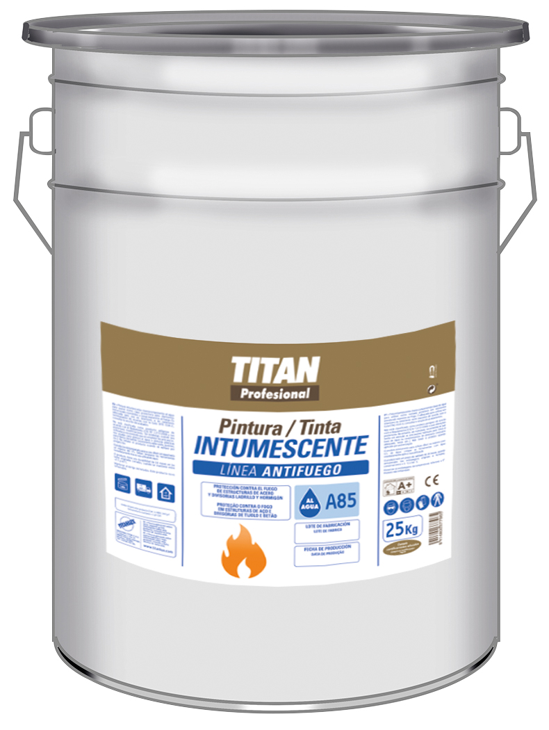 WATERBASED INTUMESCENT PAINT A85