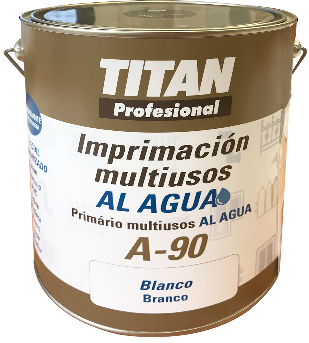 RUST PREVENTIVE MULTI PURPOSE WATER BASED PRIMER A90