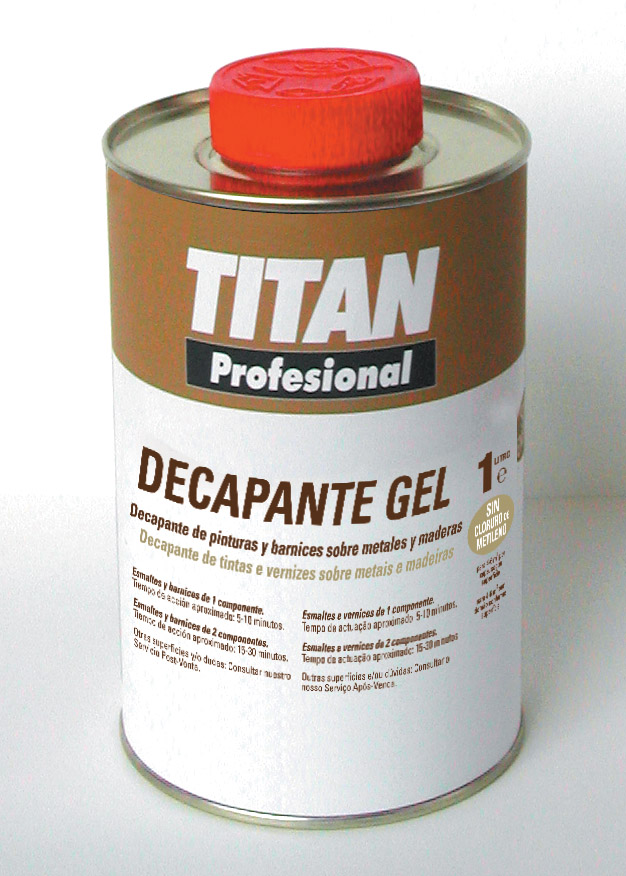 TITAN GEL STRIPPER
