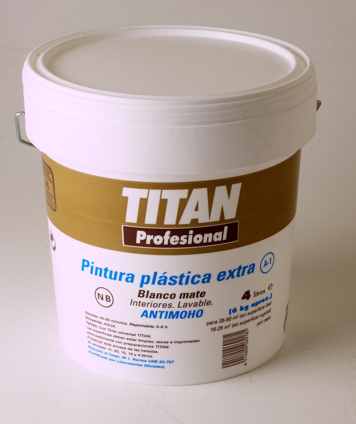PINTURA PLÁSTICA EXTRA A1