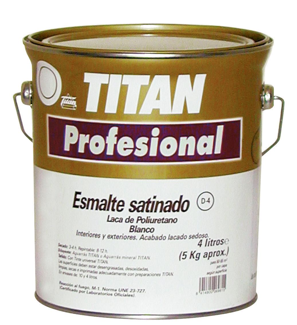 ESMALTE SATINADO POLIURETANO D4