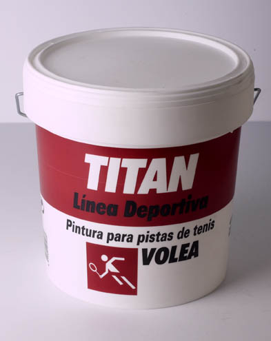TITAN VOLEA. PINTURA PARA PISTAS DE TENIS