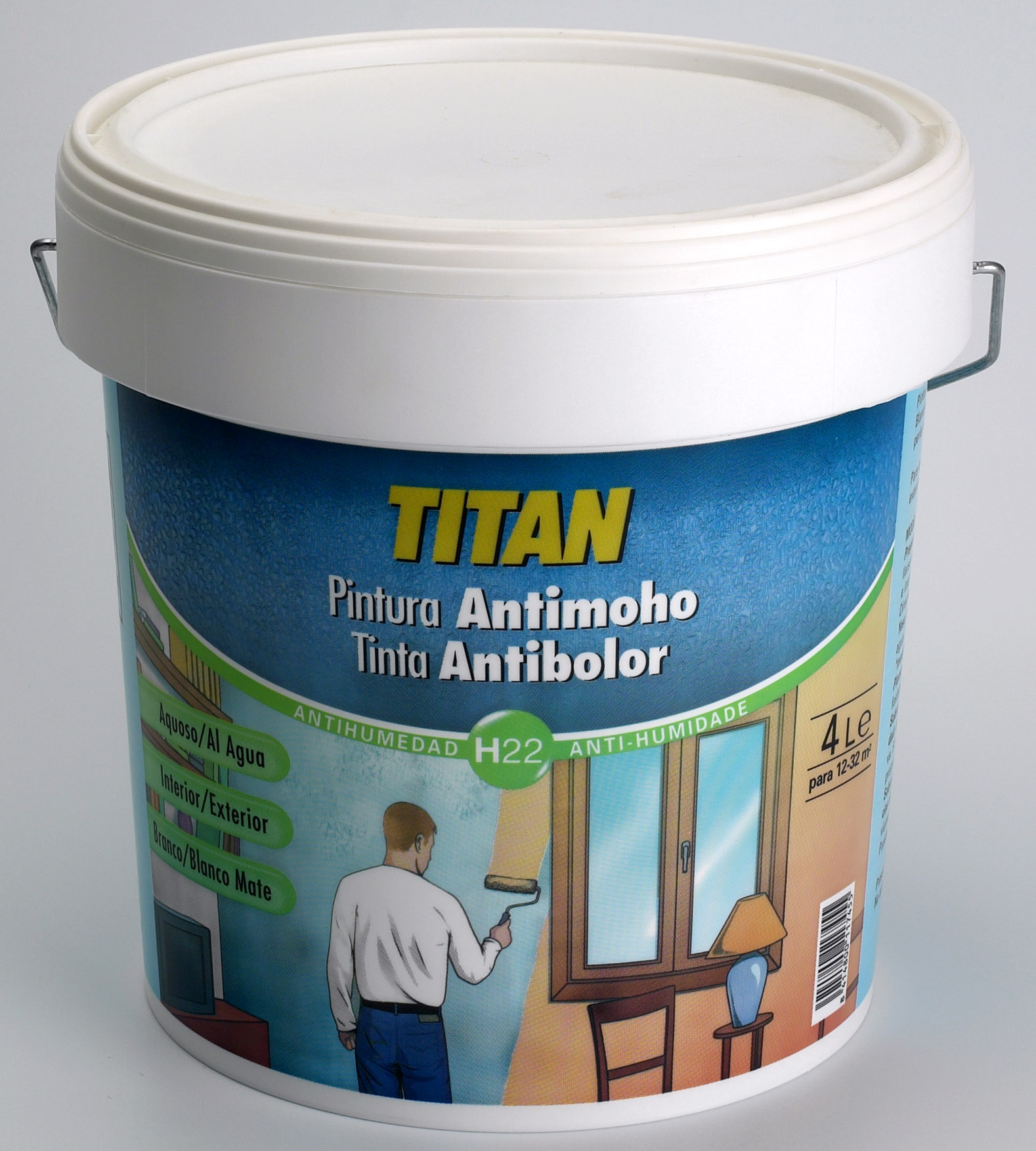 TINTA COM CONSERVANTE ANTI-FUNGO H22