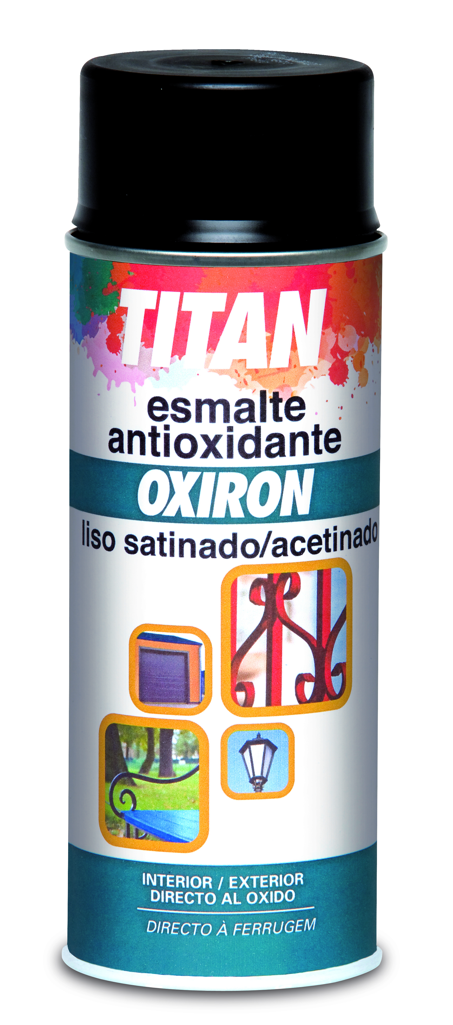 SMOOTH OXIRON RUST-PREVENTIVE PAINT