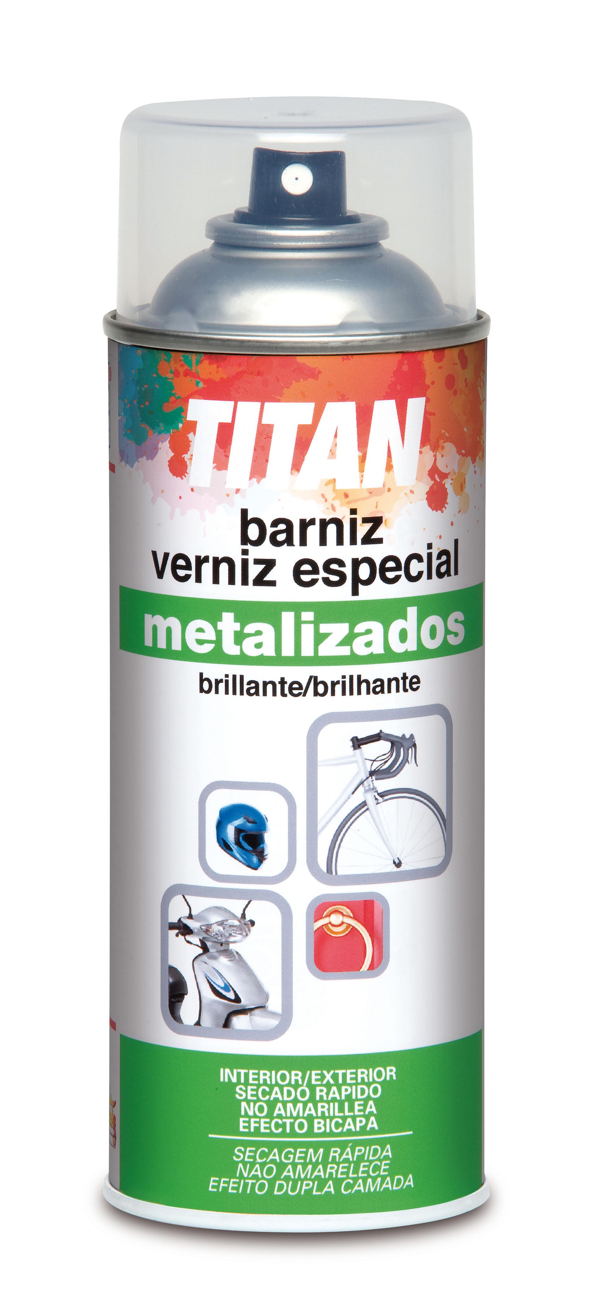 BARNIZ ESPECIAL METALIZADOS